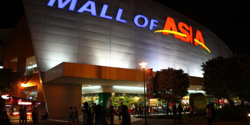 Dịch vụ giữ hành lý miễn phí ở Mall Of Asia, Manila