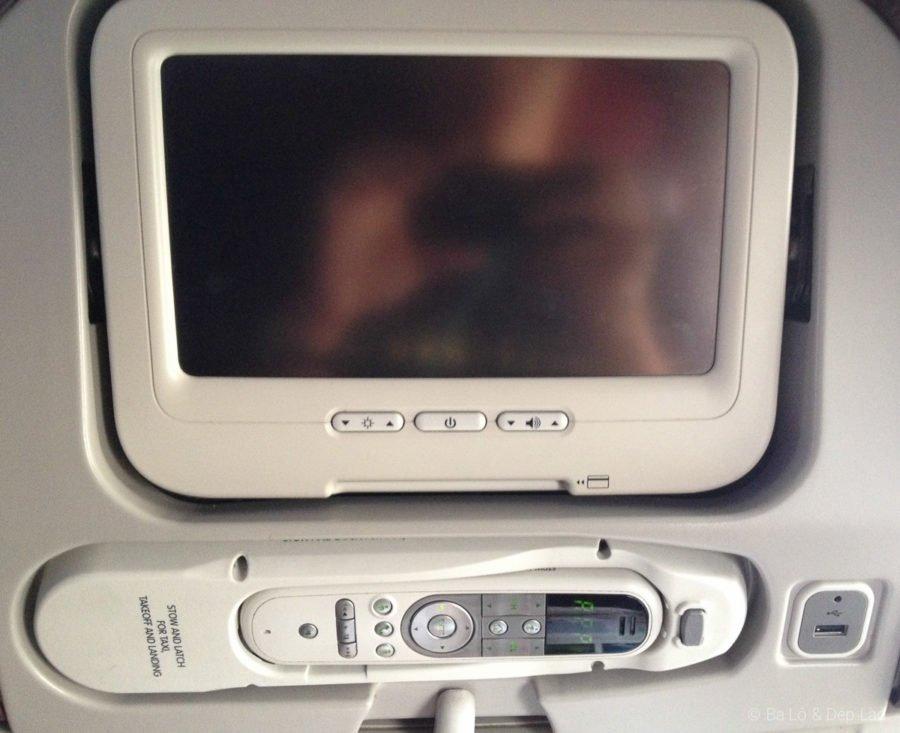 Hệ thống giải trí trên máy bay Boeing của Malaysia Airlines