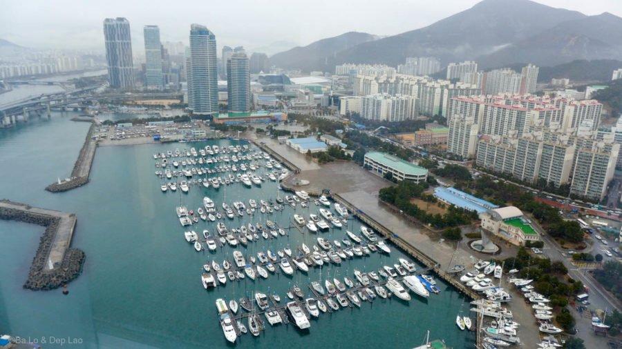 Bến tàu dành cho giới thượng lưu ở Busan