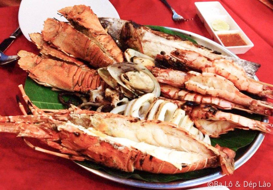 Măm hải sản hoành tráng tại nhà hàng Sea Hag - Patong Beach - Phuket