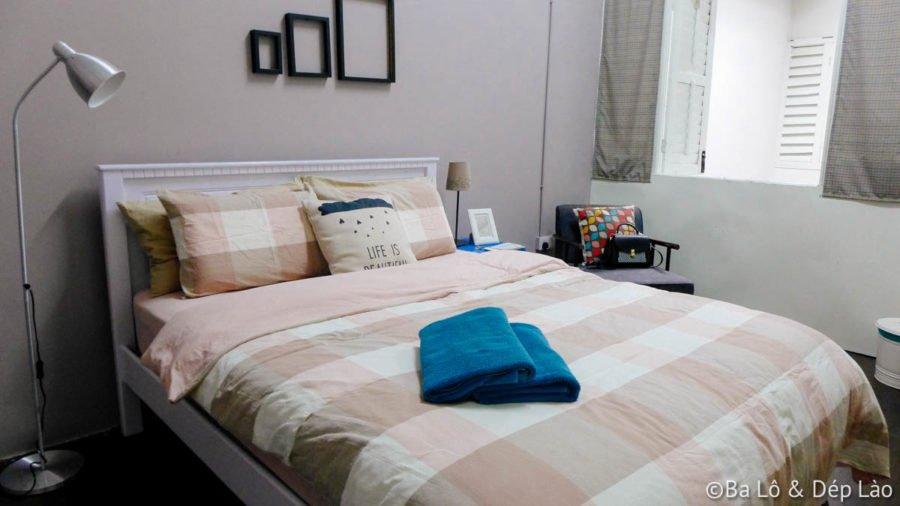 Phòng ngủ đáng yêu và sạch sẽ lắm