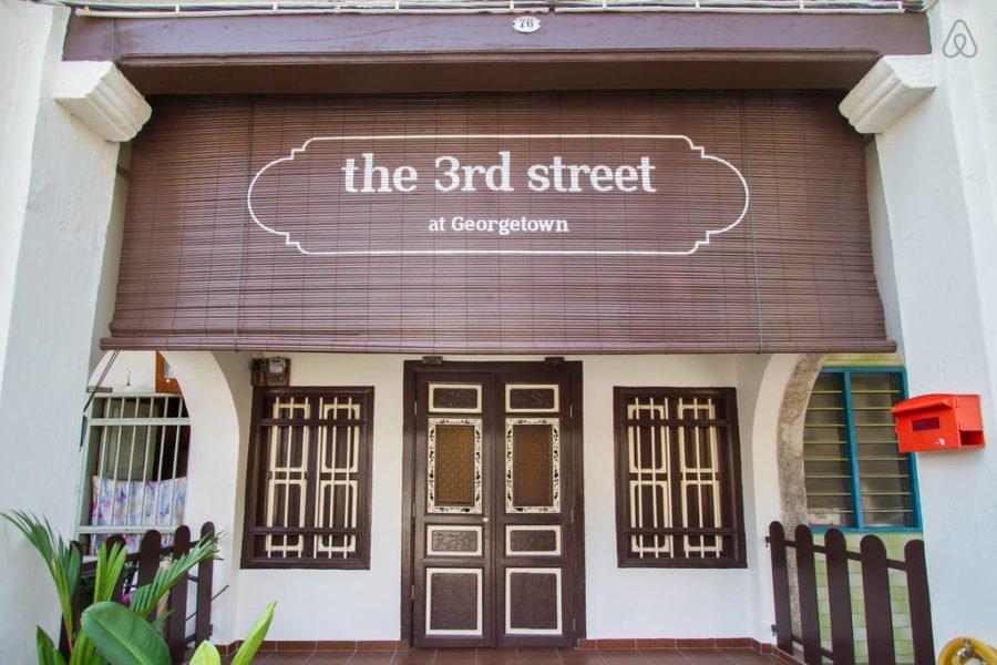 The 3rd Street cũng như bao ngôi nhà cổ khác được xây dựng theo lối kiến trúc Trung Hoa