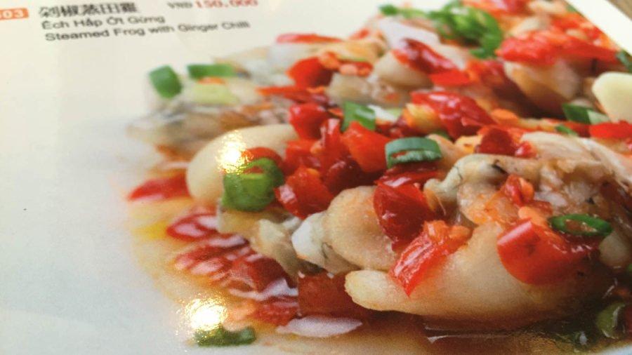 Thực đơn đa dạng phong phú ẩm thực Hồng Kong