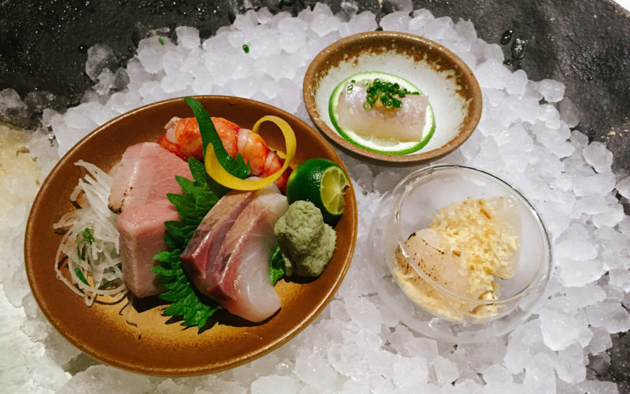 Dĩa thứ ba: Sashimi