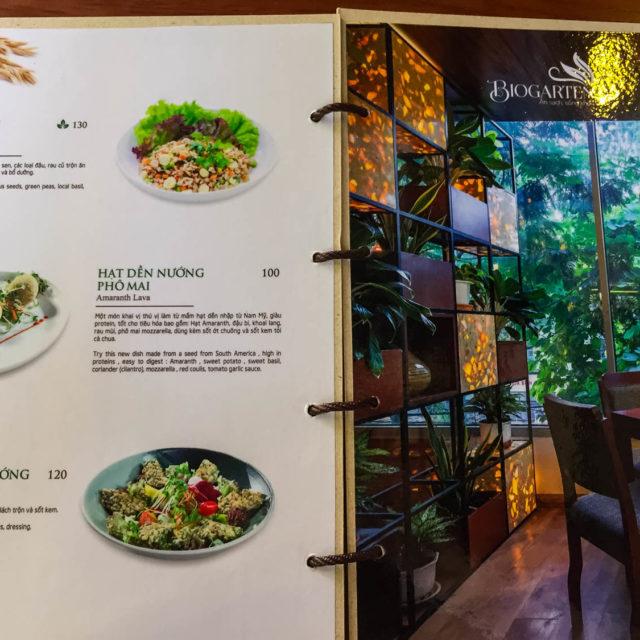[Ẩm thực chay] Ấn tượng nhà hàng chay kiểu Âu BioGarten