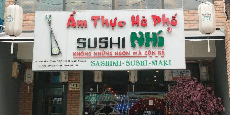 Sushi Nhí – Không những ngon mà còn rẻ